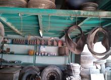 محل بناشر وغيار زيت بمعدات ايطالية في حي الجندي