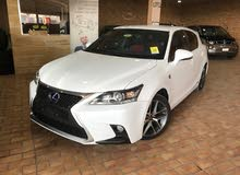 White Lexus CT 2015 for sale