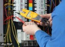 كهربائي صيانة تعهدات اصلاح  تمديدات