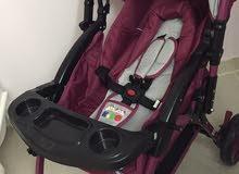 عربه اطفال استعمال مرة وحده فقط .