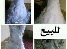 للبيع فستان زفاف ب30