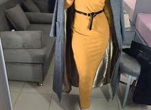 فستان وكوت وحزام