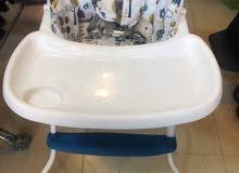كرسي طعام اطفال باشكال كارتونية