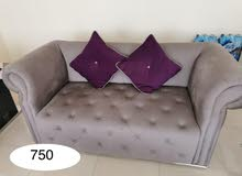 living room couch purple color