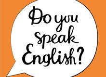 في المنزل او اونلاين English tutor تعليم انجليزي