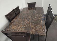 طاولة صفرة