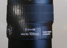 canon lens  macro 100