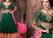 green dress for sell 15 bhd