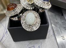 احجار كريمه مع فصوص الماس
