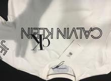 Calvin Klein White Full Sleeves T-Shirt Small Size