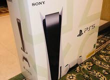 PS5 ( PlayStation 5 with two controllers )