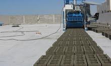 Movable concrete block making machine 1200 blocks/h (SWEDEN)