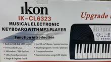 آله موسيقية بيانو كيبورد ايكون للبيع مستعمل عدة مرات و بحالة ممتازة