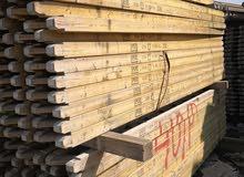 سقالات  معدنية ودوكا المنيوام وخشب للبيع