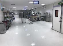 مصنع حلويات و معجنات مجهز للبيع