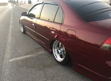 Red Honda Civic 2005 for sale