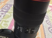 للبيع عدسة كانون  Canon EF 100mm f/2.8L IS USM Macro
