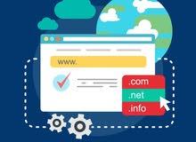 تصميم جميع انواع المواقع الكترونية