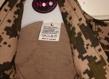 بدلة عسكرية جديدة خامة ممتازة