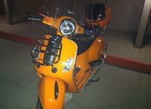 دراجه فيسبا موديل 2013 سوبر سبورت 300 ماشي 6000 كيلوا شبه جديد