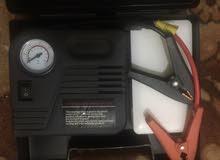 طقم طوارئ للسياره لنفخ التواير وتشغيل السياره