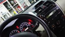 تويوتا كورولا 2012 بحاله جيده للبيع