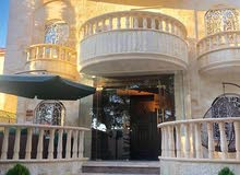 This aqar property consists of 5 Rooms and More than 4 Bathrooms in Amman Naour