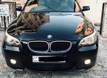بي ام دبليو e60 530i موديل 2006 للبيع بسعر ممتاز للجادين
