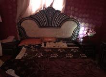 غرفه نوم بكامل ملحقاتها للبيع