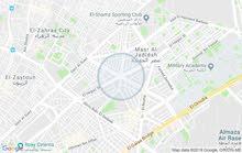 ارضى للبيع 538م بمربع جامع الفتح هليوبوليس به رخصة أرضى و5ادور