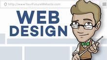 تصميم موقع مناسب الي مجال عملك
