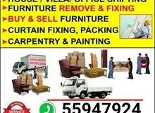 Call/What'sApp:55947924 Shifting, Moving, Carpenter &Transport service