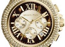 ساعة مايكل كورس كاميلي للنساء بعقرب بطيء وبسوار ستانلس ستيل كرونوغراف - ام كي5901