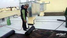 حل مشاكل الدلف والتسريب عزل بالزفتة والرولات والفوم  وعمل صبات الميلان و المروحية .