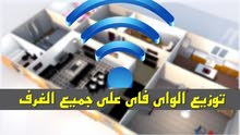 (كاميرات مراقبة +انتركم+نظام استشعار +السماعات المركزية+محرك البوابة + خدمة تقوية الانترنت )