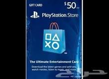 » للبيع بطاقة بلاستيشن ستور 50 دولار امريكي