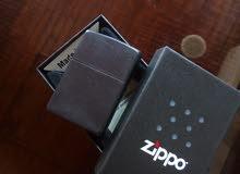 قداحة zippo اصلية مع بكيتها حالة ممتازة