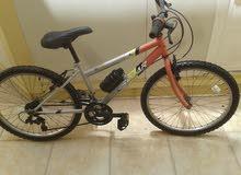 دراجة هوائية ايطالية اصلية   شبه جديدة  (رقمها 24 )