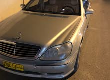 Used condition Mercedes Benz S 500 2002 with +200,000 km mileage