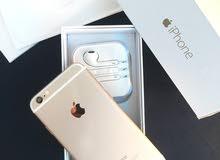 ايفون  6  64 جي بي اللون ذهبي