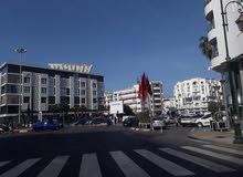 بقعة 700متر مرخصة لانشاء فندق الرباط المغرب