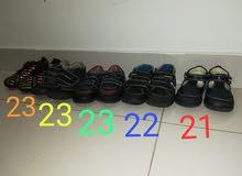 10 احذية للأطفال براندات مستعمل نظيف