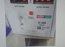 محول ومنظم كهرباء ديجيتال ياباني شغل 110 و220 جميع الاحجام والمقاسات للتواصل 058