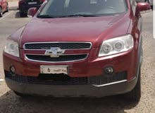 Maroon Chevrolet Captiva 2010 for sale