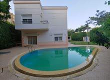فيلا تمليك بمدينة الرحاب  القاهرة الجديدة  نموذج F   بحمام سباحة