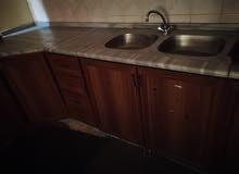 خزانة مطبخ رخام وأبواب 0788978519 بسعر 150