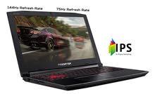 لابتوب جيمنق احترافي مخصص للألعاب ومصممي الجرافيك المحترفين / Gaming Laptop Acer