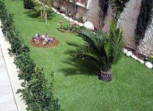 تزين وتنضيف وتجميل الحدائق والأشجار وصناعة احوض الزراعة بجميع أنواع الأحجار و