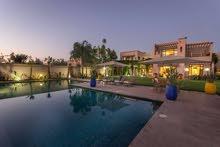 ايجار فيلا خمس غرف في مراكش المغرب
