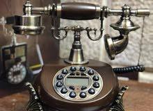 هاتف ارضي خشب